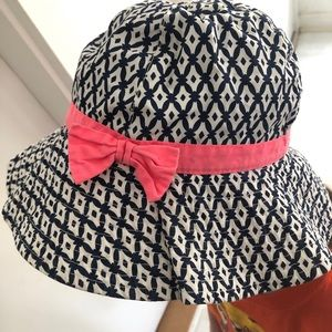 4x$25 Carter's Patterned Print Sun Hat with Bow